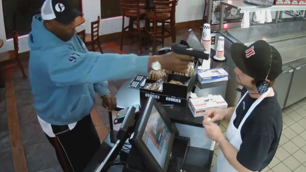 Download Watch Unfazed Cashier Keep His Cool During Terrifying Gunpoint Robbery