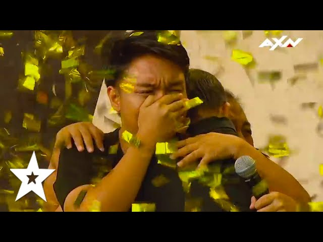 See WHY An UNEXPECTED GOLDEN BUZZER AUDITION Sent Shadow Ace Puppet Group To The Semi Finals!