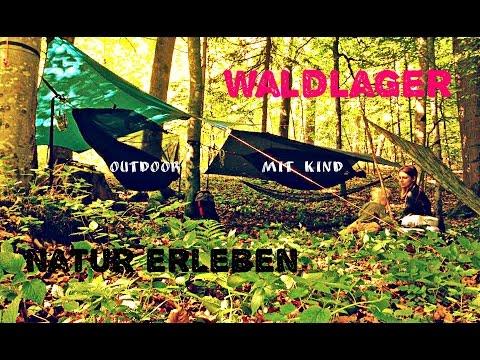 Wald/Nachtlager – Die erste Tour  – Outdoor mit Kind – Outdoor Bavaria