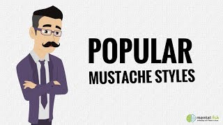 Beard Institute Guide to Popular Mustache Styles