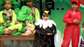 SAMSKAR SCHOOL - SKIT by Pre Primary - ANNUAL DAY 2014