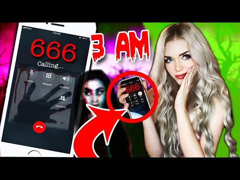 Calling *HAUNTED* Numbers At 3 AM That You Should NEVER Call!!! (they Worked..)
