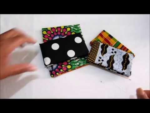 DIY Fabric Business Card Holder Tutorial