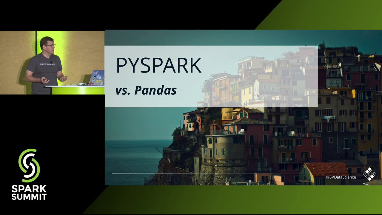 Data Wrangling with PySpark for Data Scientists Who Know Pandas - Andrew Ray
