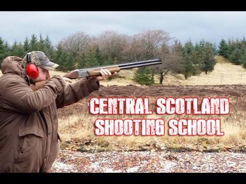 Clay Pigeon Shooting  @ Central Scotland Shooting School