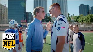 Gronkowski and Manning families play some pigskin on Turkey Day | FOX NFL