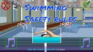 Safety Rules of swimming Nursery rhymes by SimSam