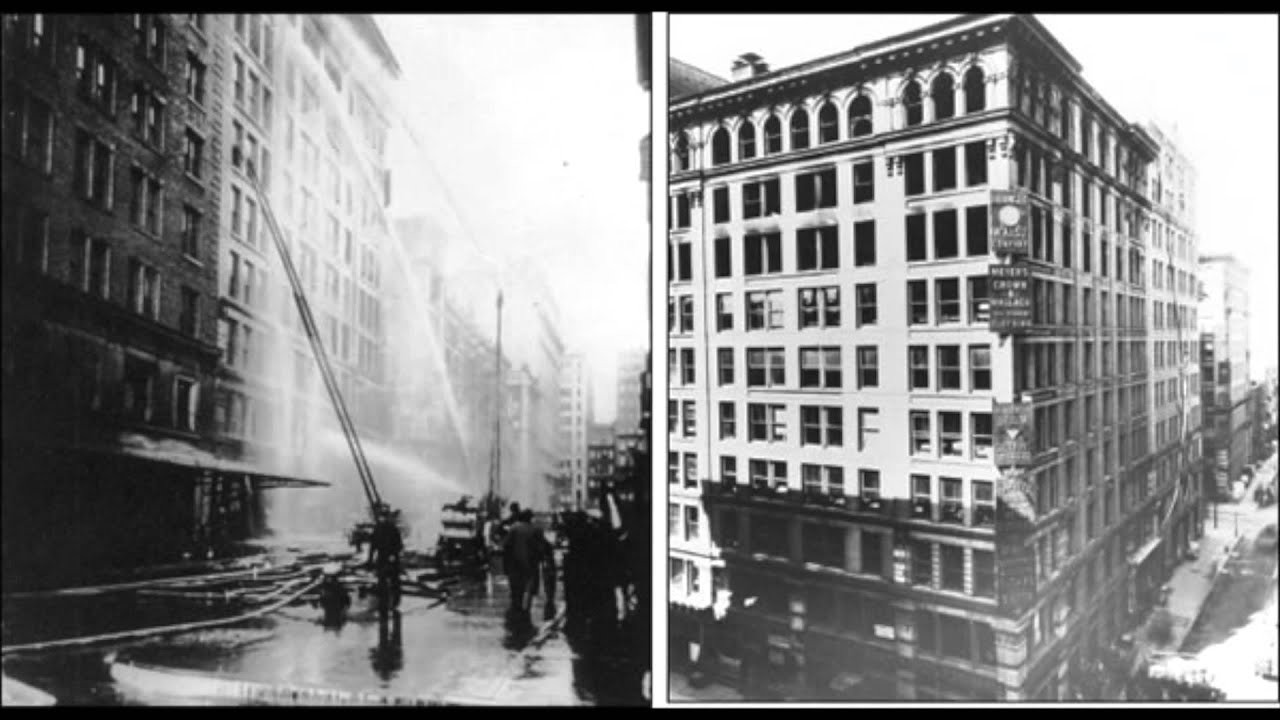 triangle shirtwaist fire reaction Tuesday is the 103rd anniversary of the triangle shirtwaist factory fire, a major turning point in american labor history on march 25, 1911, 146 garment workers, most of them jewish and italian immigrant girls in their teens and twenties, perished after a fire broke out at the triangle factory in new york.