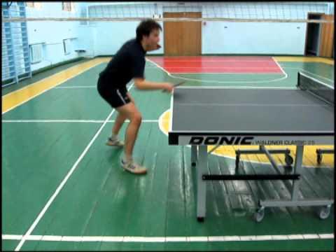 Настольный теннис: Видео -