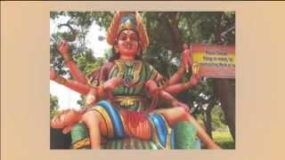 Weird God Statue of India