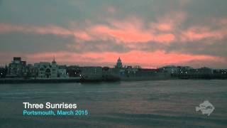 Three Sunrises in Portsmouth (2015)