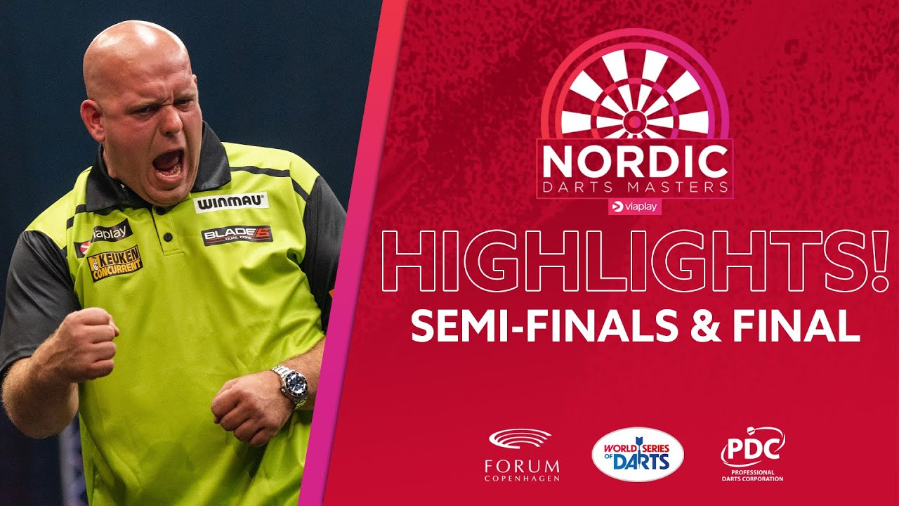 IS HE BACK  SemiFinals and Final Highlights  2021 Viaplay Nordic Darts Masters