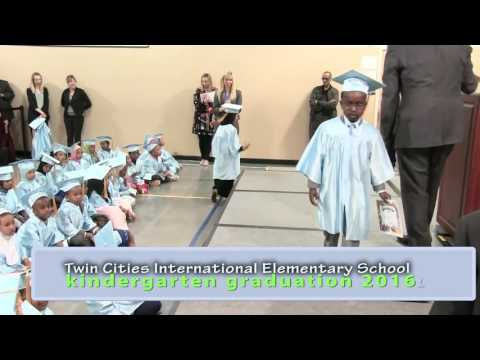 Twin Cities International Elementary School Kindergarten Graduation