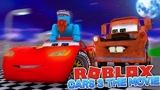 I'M IN THE CARS 3 MOVIE - Sharky Gaming | Roblox