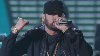 Eminem delivered a surprise performance of 'lose yourself' during the 92nd annual academy awards, which aired sunday on abc.#oscarsexclusives from #etonline ...
