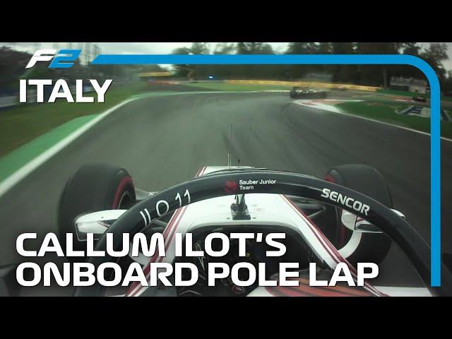 Callum Ilott Takes Maiden Formula 2 Pole in Monza | 2019 Italian Grand Prix