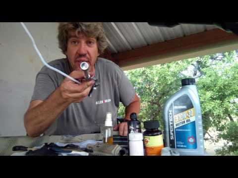 AK 47 AK 74 CLEAN IT! On budget, and Ready your Rifle!