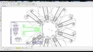 Редактирование чертежа в Компас 3D