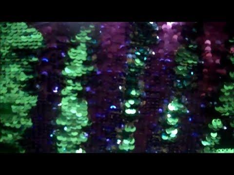 Mermaid Pillow ASMR - Flashy, Scratchy Sequin Tapping Tingles - TheWhisperingNerdASMR