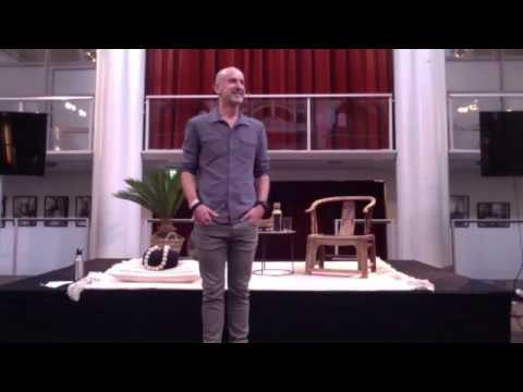 Juno Burger Energy Awareness Masterclass at Inner Peace Conference 2017.