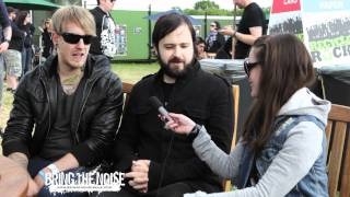 Bring The Noise UK - Funeral For A Friend Interviewed at Download Festival 2011