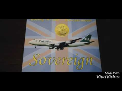 PIA 747-300 (AP-BFV) 1:400 Scale model by Sovereign Models | Unboxing & Review
