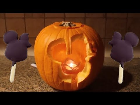 Carving a DISNEY Pumpkin!!