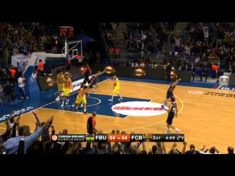 (HD) Fenerbahçe Ülker 75 - 70 Barcelona (Highlights - Özet) Euroleague 2013-2014