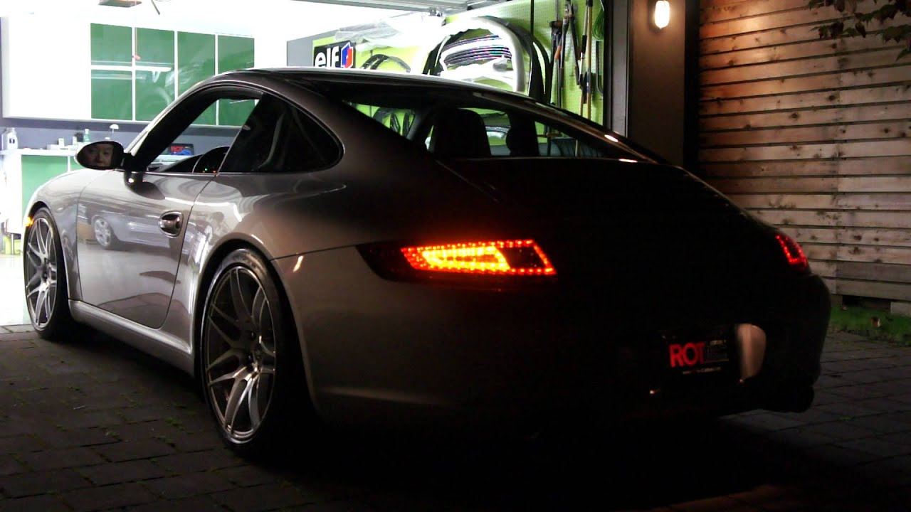 Porsche 997 1 Led Tail Light Rottec Youtube
