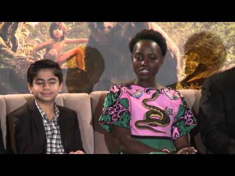 The Jungle Book: FULL Press Conference - Lupita Nyong'o, , Jon Favreau, Neel Sethi