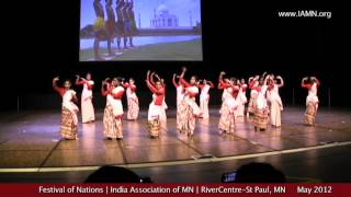 Festival of Nations-Dance-2012-2 [India Association of MN]