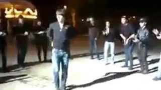 лезгинка в Баку Азеры Даги и Курды