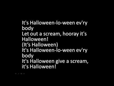 It's Halloween-lo-ween Lyrics