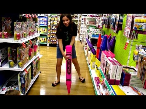 PLAYING AT TOYS R US