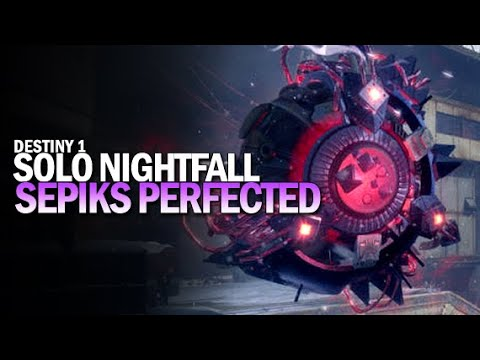 Destiny: Weekly Nightfall Strike The Abomination Heist Solo Gameplay from YouTube · Duration:  7 minutes