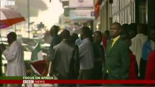 BBC News - Rare glimpse of Zimbabwe