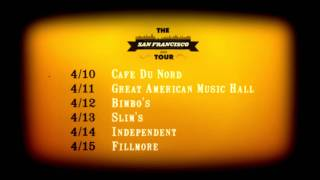 Train - San Francisco 2012 Tour