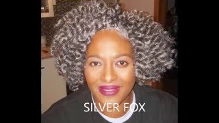 Styles by Ten:Gray Mambo Twist Crochets by Janet Collection