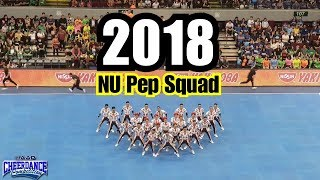 NU Pep Squad | Winning Performance チアリーディング | Top View Best View