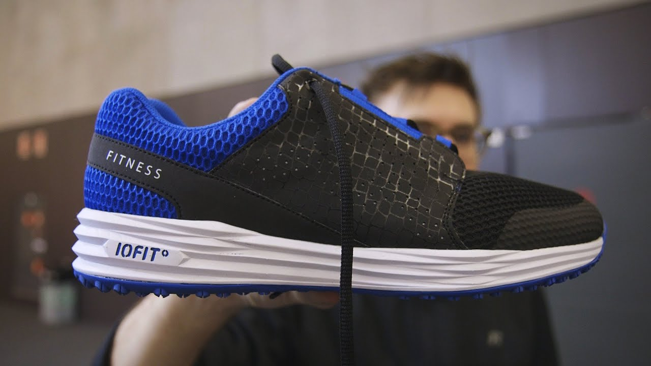 7aa3143b642b Samsung helped make these smart shoes - YouTube