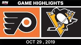 NHL Highlights   Flyers vs. Penguins – Oct. 29, 2019