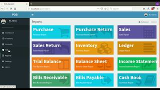 Point of sale (pos) with accounting system (installation process)