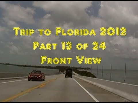 Trip to Florida 2012 | Front View | 13 of 24 | From Marimar, FL to Key West, FL