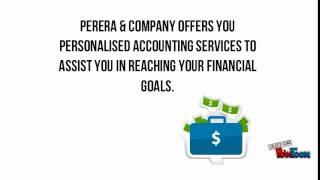 Tax Return & Tax Accountant services from Perera & Company Australia