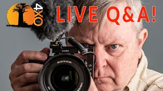 Filmmaking, cameras and gear. LIVE Q&A