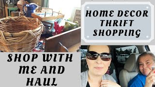 FARMHOUSE HOME DECOR THRIFT SHOPPING || THRIFT HUAL || SHOP GOODWILL
