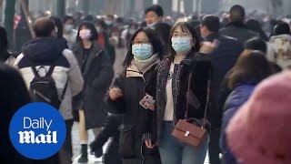 While millions around the world celebrated new year from comfort of their own sofas in lockdown, thousands revellers wuhan were partying together with no social distancing sight. ...