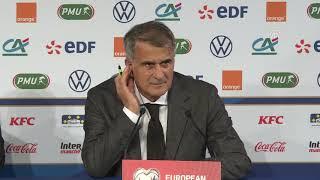 Fransa 1-1 Türkiye | Şenol Güneş: ''Beraberlik benim hatamdı''