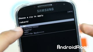 How to Install a Custom ROM on Galaxy S4!