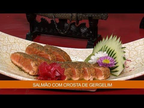 SALMÃO COM CROSTA DE GERGELIM